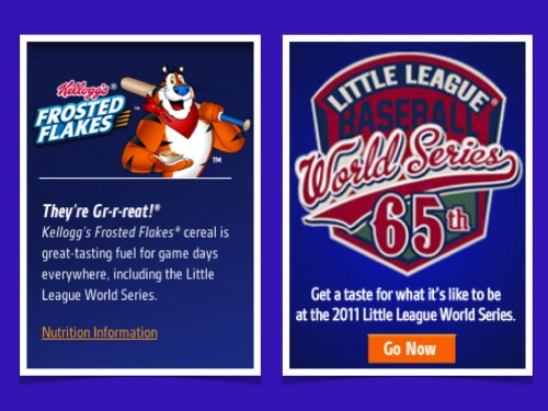 Frosted Flakes Little League tie-in
