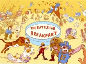 marketing to kids and battle for breakfast