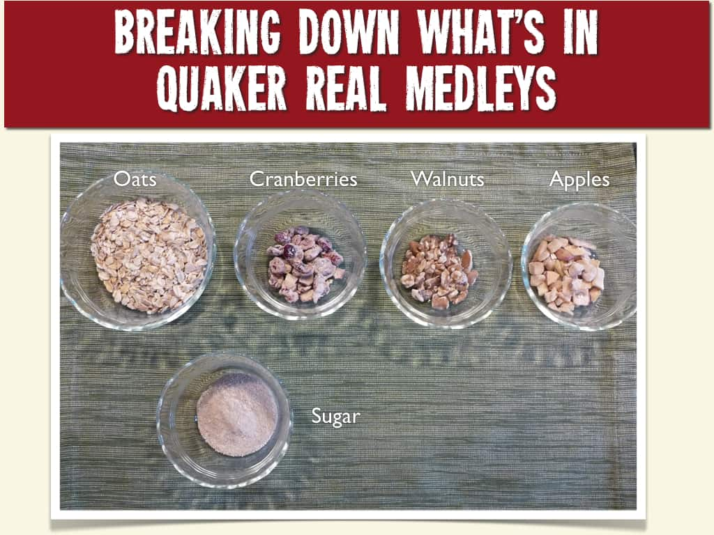 Breaking Down What's Really In Quaker Real Medleys