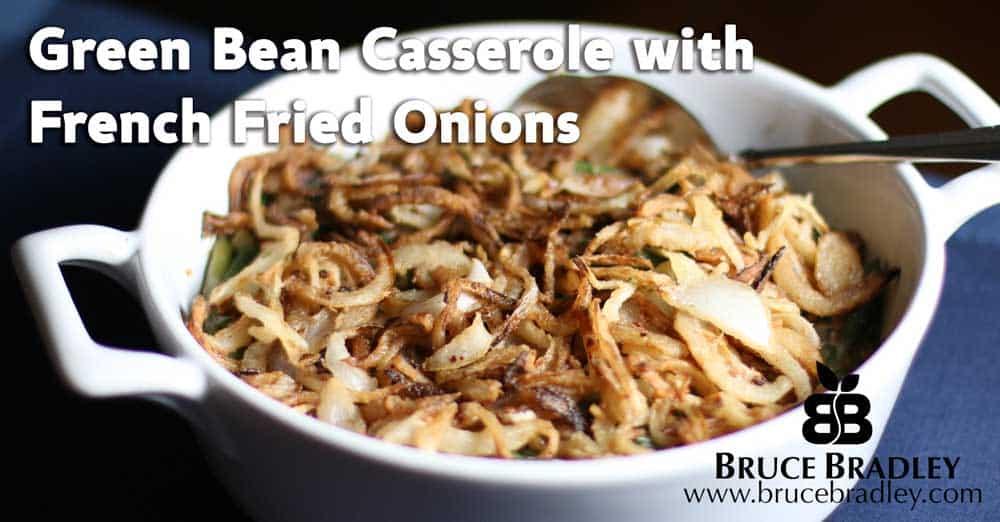 Recipe: A Healthier Green Bean Casserole