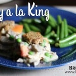 Turkey a la King is a post-Thanksgiving, turkey leftovers favorite in our house!