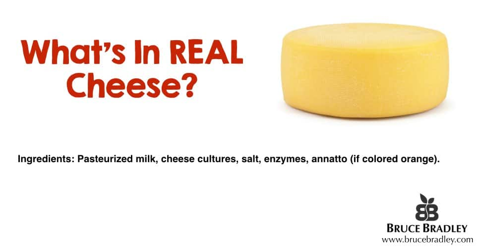 What's in real cheese?