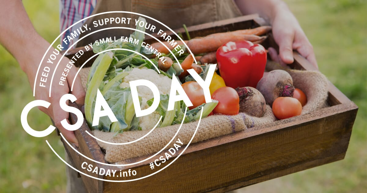 Eat healthier and join a CSA today!