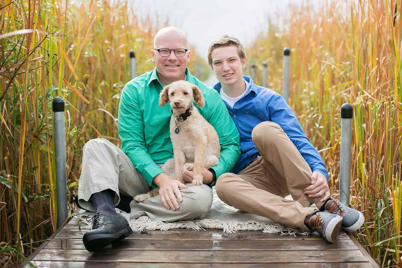 photo of Bruce Bradley's family