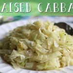This braised cabbage recipe is so delicious, you're going to want to make a meal out of it!