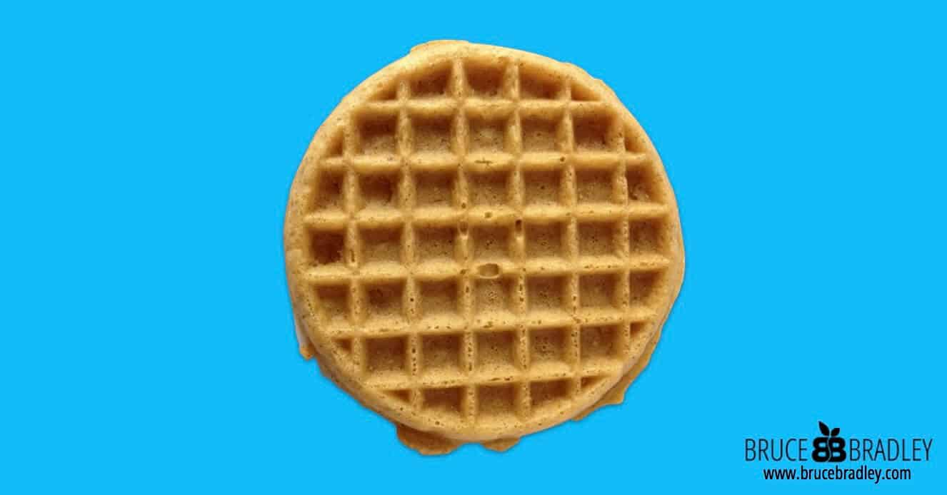 """Are frozen waffles or dry waffle mix a great choice for breakfast? Probably not. In fact, perhaps we should listen to the old television ad more literally and """"Leggo my Eggo."""""""
