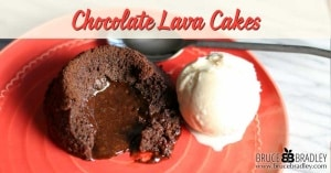 "Looking for a delicious way to say ""yes"" to a special occasion treat without having to spend hours in the kitchen or buy some highly processed, store-bought cake? Then try these simple, easy, and yummy Chocolate Lava Cakes!"