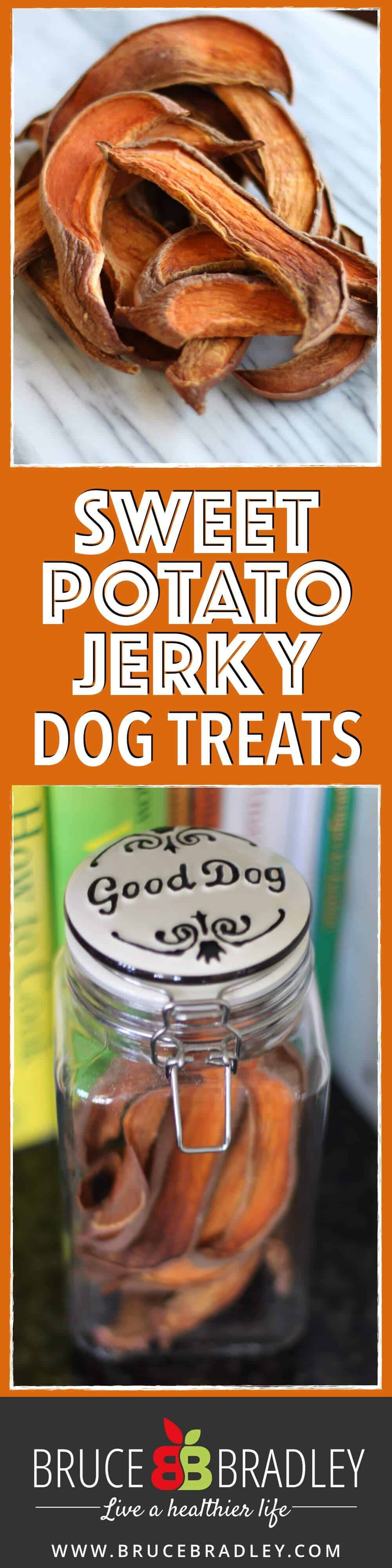 One ingredient sweet potato jerky that's so delicious, you may not want to give it to your dog!
