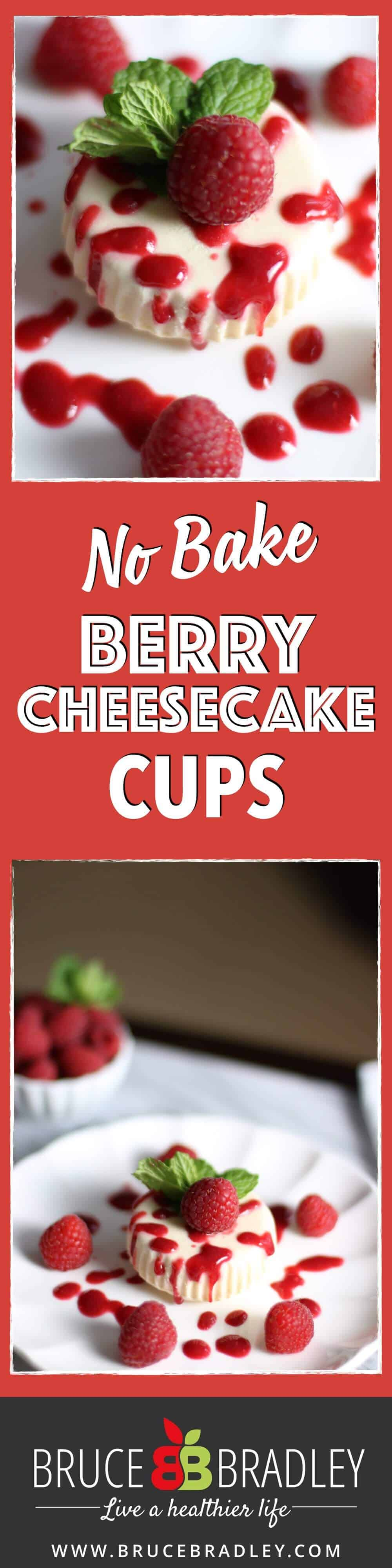 These easy, No-bake Cheesecake Cups with Berries are a deliciously cool way to get all the taste of cheesecake with none of the fuss!