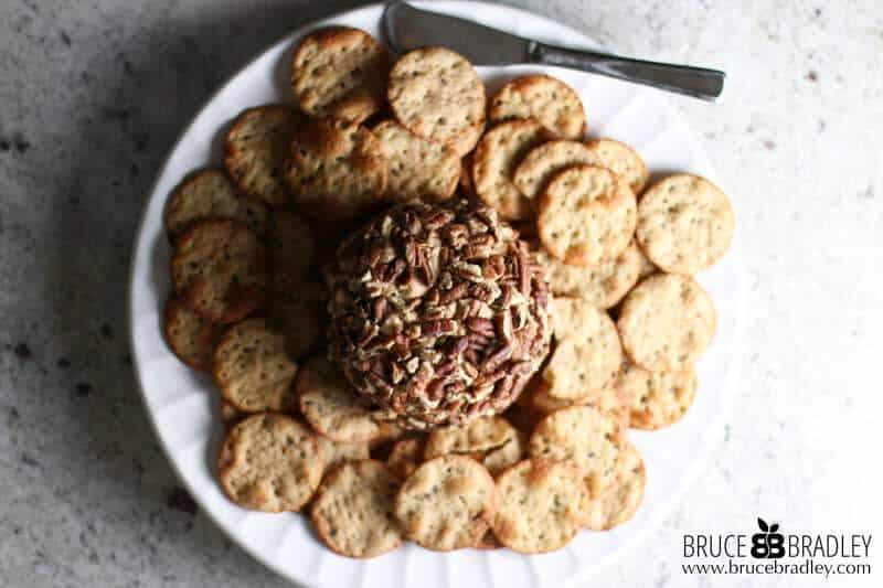 My Quick Party Cheese Ball is a crowd-pleasing appetizer that can be made ahead of time!
