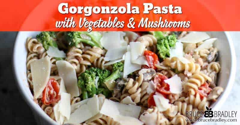 Recipe: Gorgonzola Pasta with Vegetables