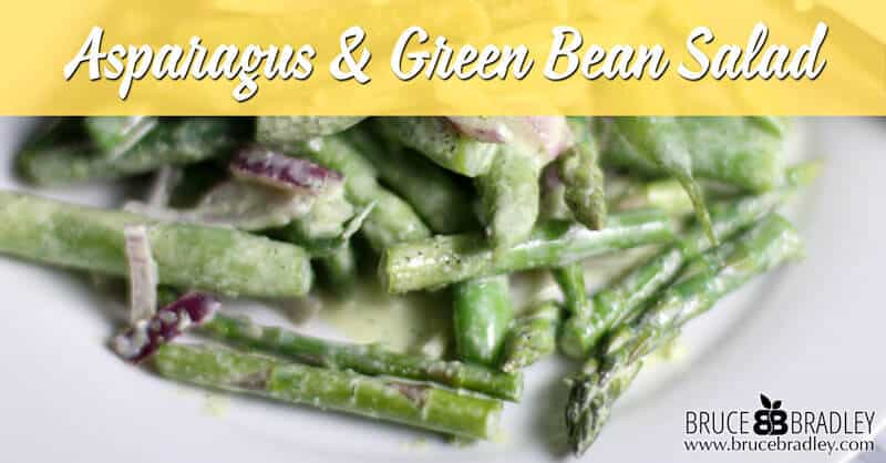 Recipe: Asparagus And Green Bean Salad